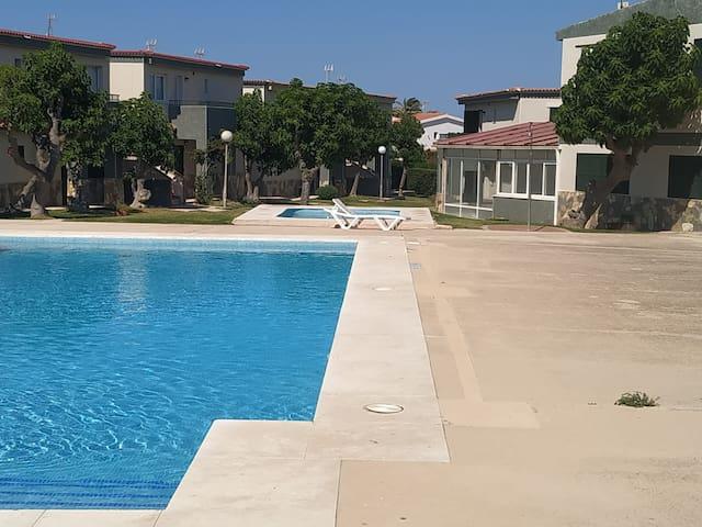 Apartamento con piscina, Cala'n Blanes Ciutadella