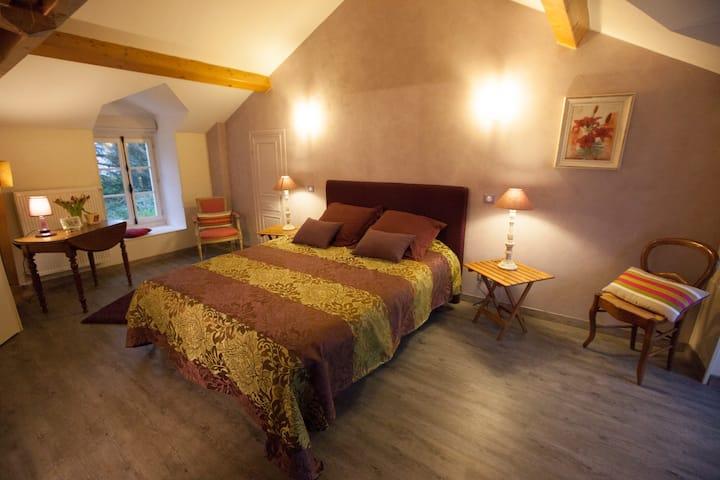 chambre fritillaire et sa suite