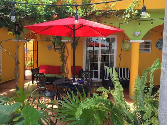 The best studio with outdoor patio in Guayama