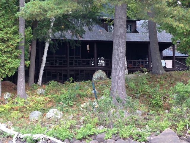 A Picturesque Adirondack Vacation Home on 7 Acres - Long Lake - Casa de vacances
