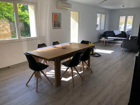 Maison de 100m2 rénovée au calme
