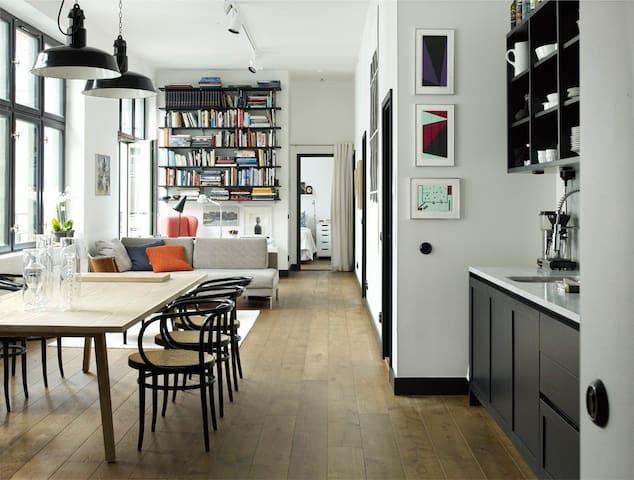 Designer apartment, in city - Stockholm - Appartement