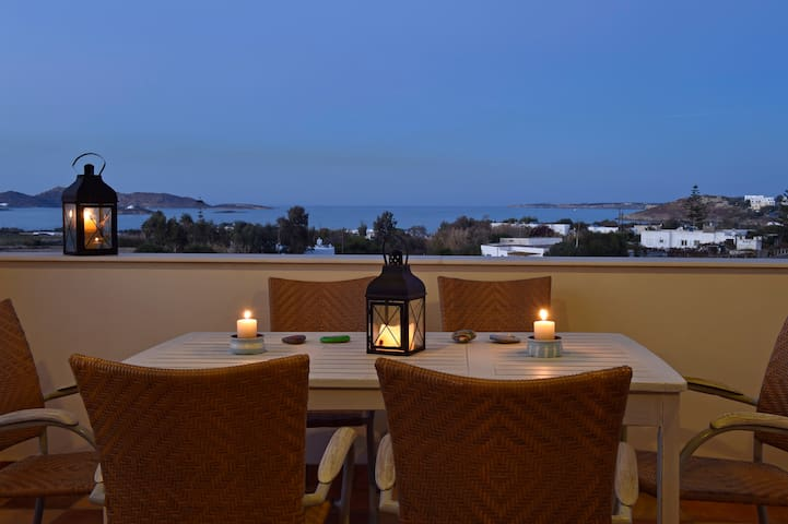 Cosy House #2, Amazing View towards the Aegean Sea - Naousa, Paros - Apartment