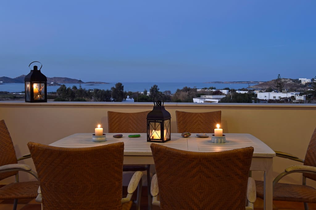 View, serenity and relaxation from the veranda