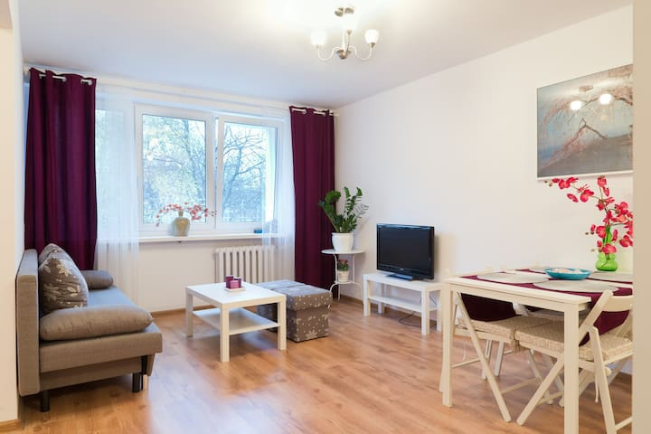 Heart of Warsaw apartment - Warsawa - Apartemen