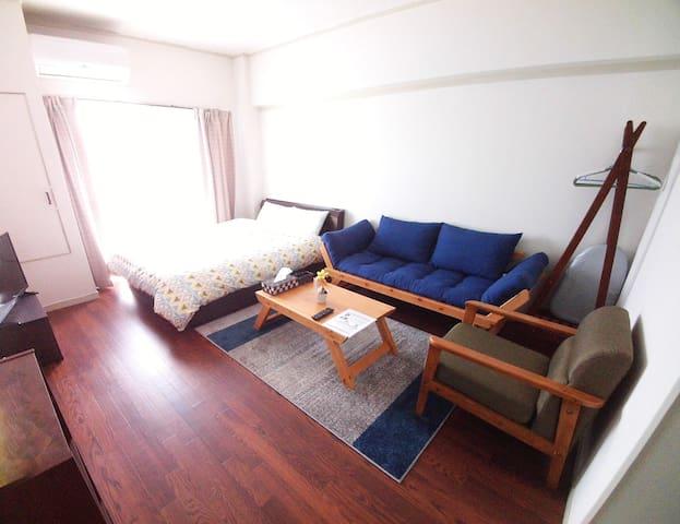 Close to Okayama Stn and Downtown!! - Okayama-shi - Appartement