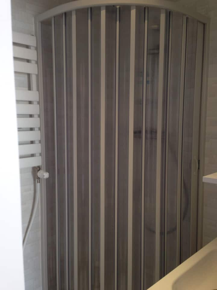 A private room with bathroom in shared house