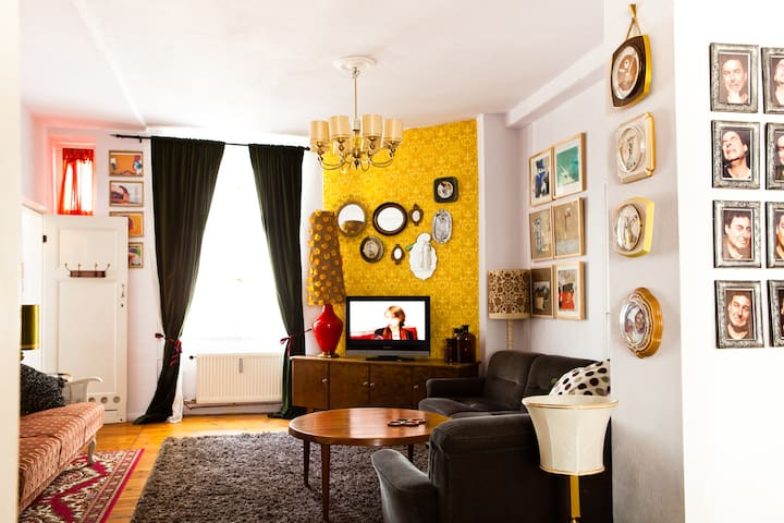 The Berlin Artist Apartment.