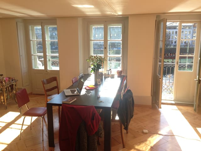 Stunning old town flat with a view - Luzern - Wohnung