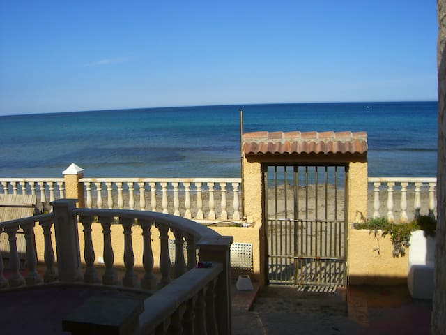 Villa Vistas del Mar,1ª linea playa - San Javier - Maison