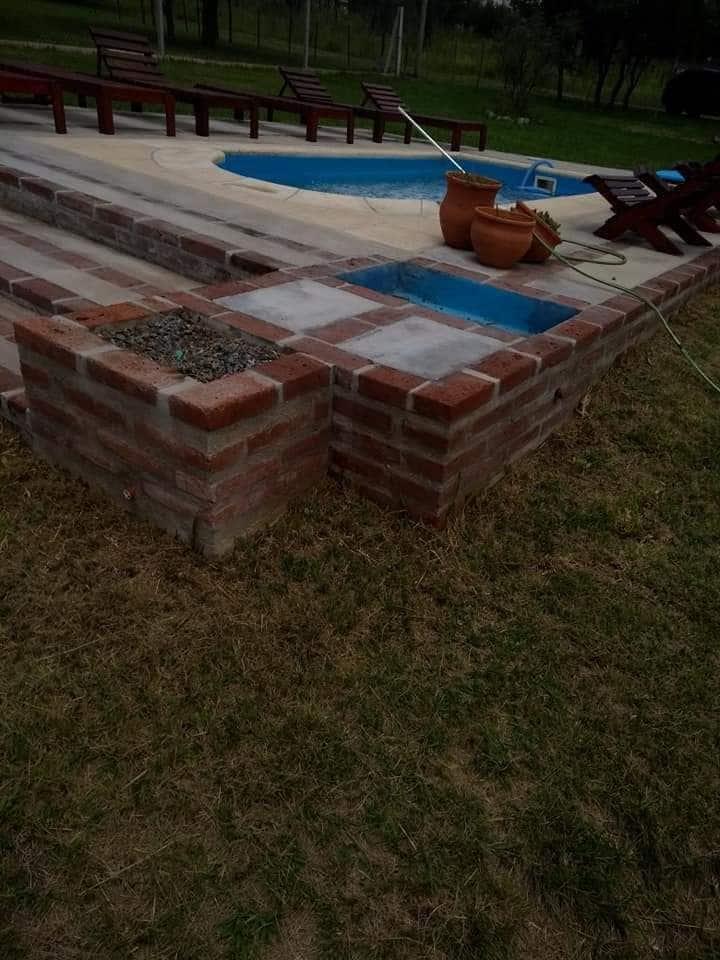 Cabañas en Cosquín con piscina