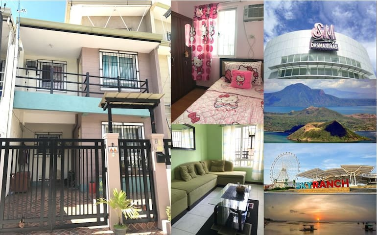 Townhouse in Cavite. Accessible & near Tagaytay.