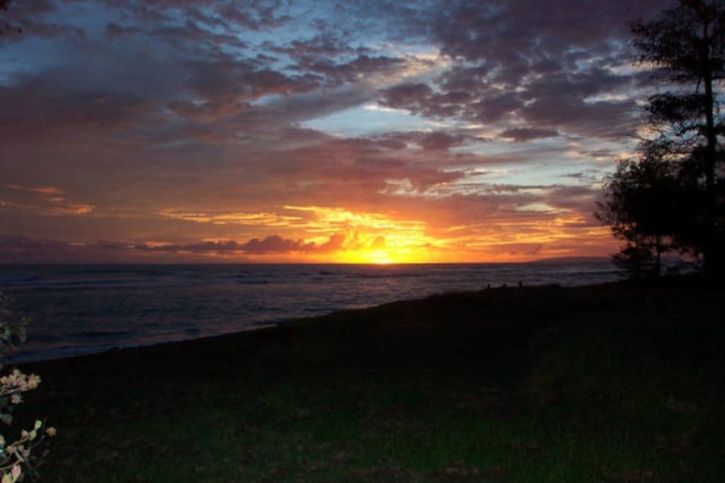 One lot back from Black Sand Beach and Amazing Sunsets!