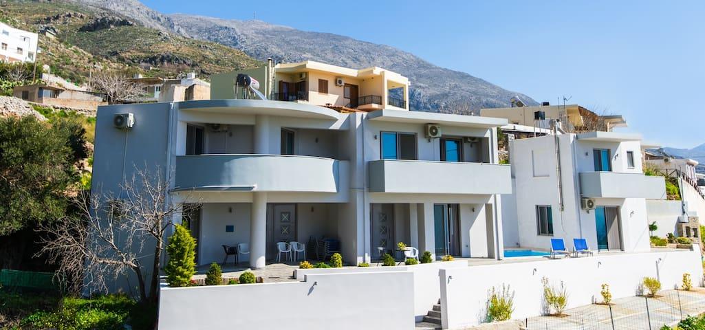 Villa Ilektra in Damnoni Village - Damnoni beach - Hus