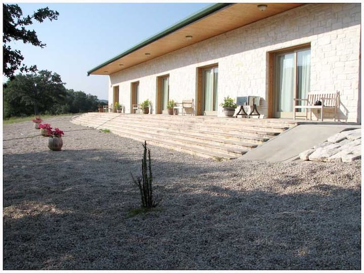 Guest Lodge on the Johnson Fork of the Llano River