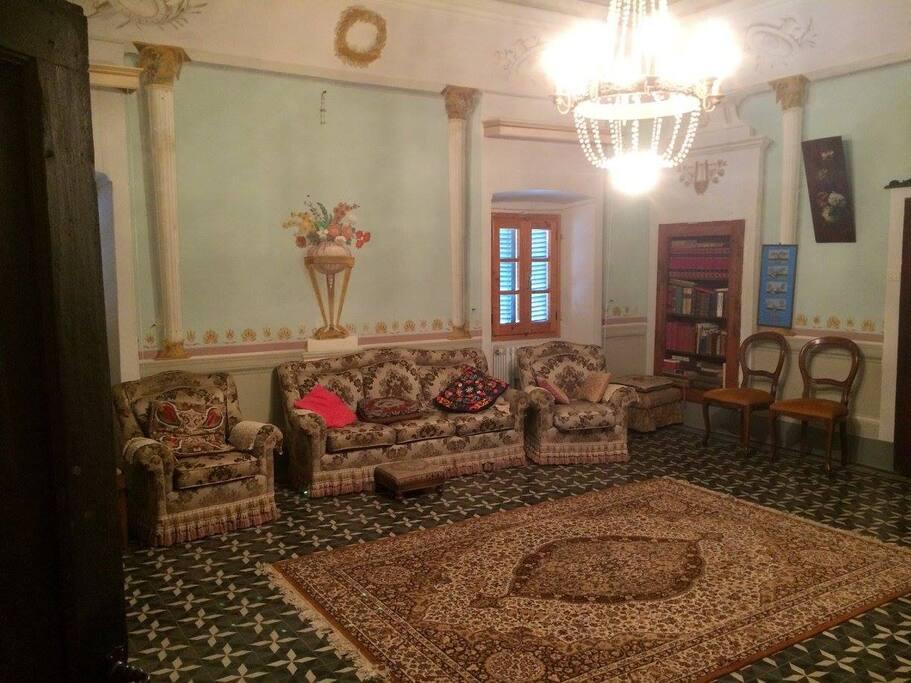 Sala affrescata