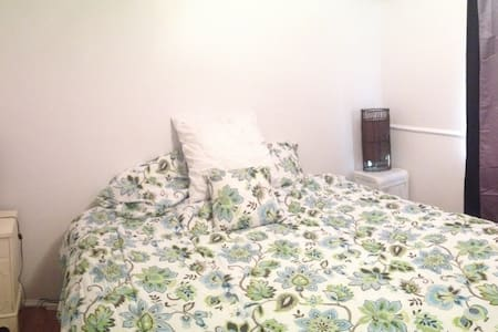 Private apartment w king bed +futon
