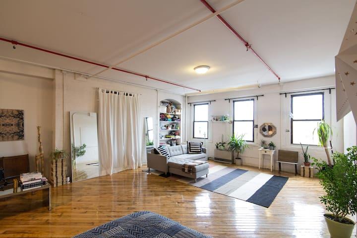 Large New York style loft  - Бронкс - Квартира