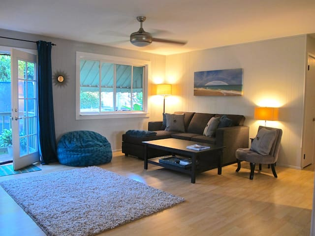 Northshore Paia Town 3 Bed/1Bath walk to town A/C - Paia - Leilighet