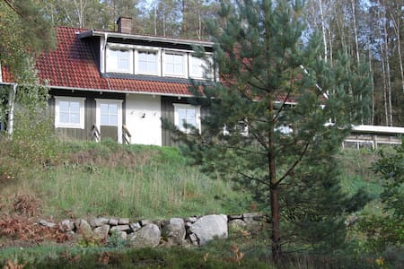 Lake house by Skeingesjön