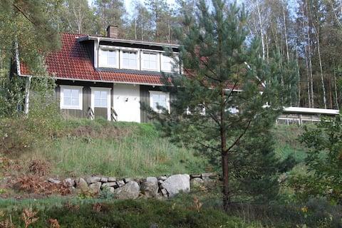 Lake house by Skeingesjön