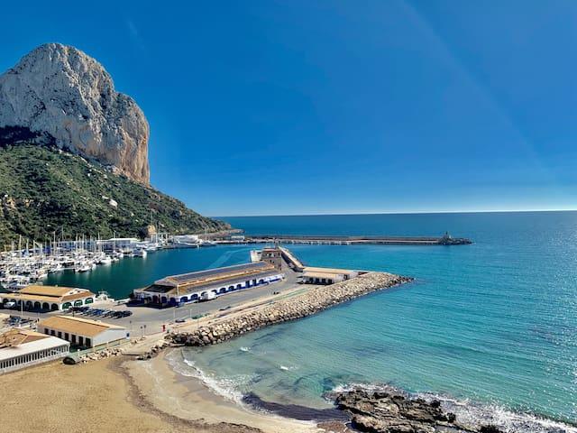 Puerto de Calpe-Port of Calpe