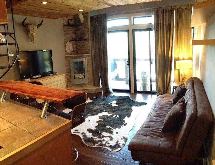 Luxe Tahoe Ski In Modern Loft Condo