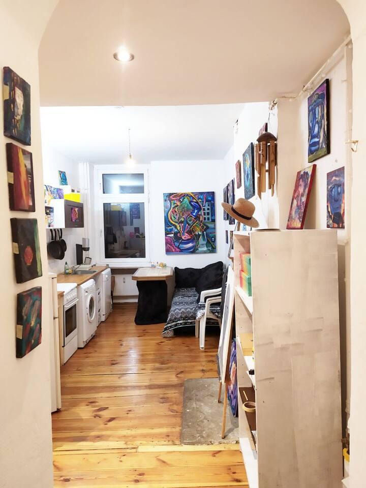 Künstler Wohnung für Geschäftsreisende