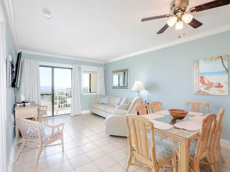 Your condo is on the 5th floor of the Gulf Shores Planation Resort, full of family-friendly attractions.