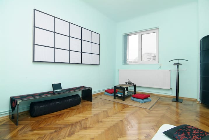 charming 1 bedrm appt in calm area - Bucharest - House
