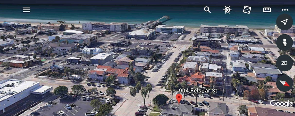 Ocean Breeze 4BR sleeps 14+OPT Guesthouse by sand!