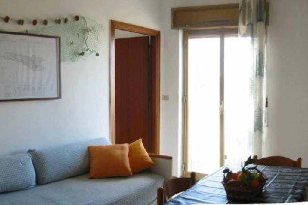 Living room, divano letto