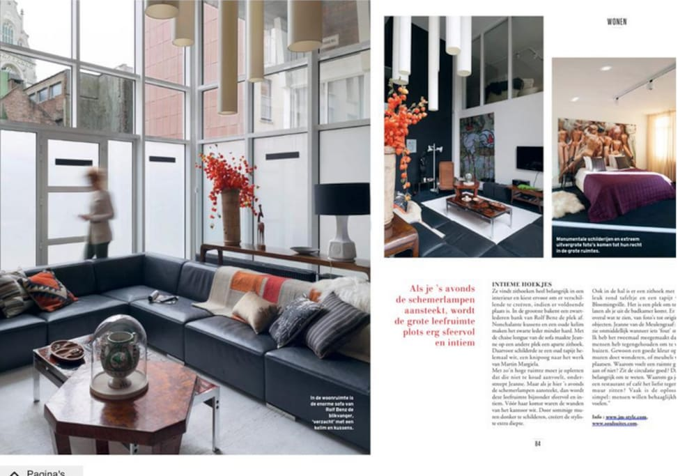 SOUL LOFT in Belgium magazine