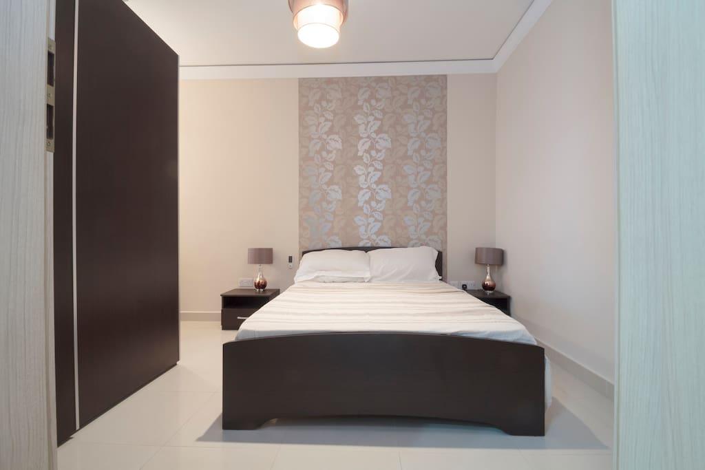 Spacious master bedroom
