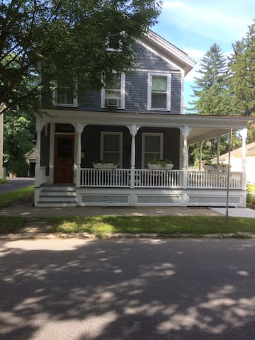 Perfect location! Walk to track and downtown!