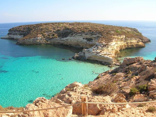 Lampedusa, Mediterraneo