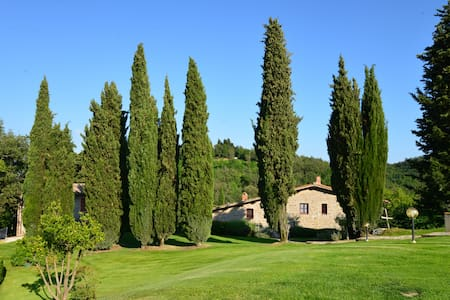 Agritourism in Chianti with pool  - Greve in Chianti - Apartment - 0