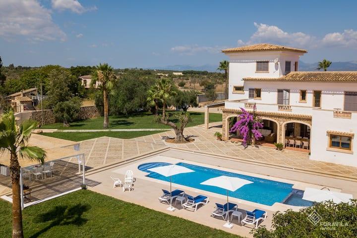 Villa Turquesa. Modern style villa with pool.