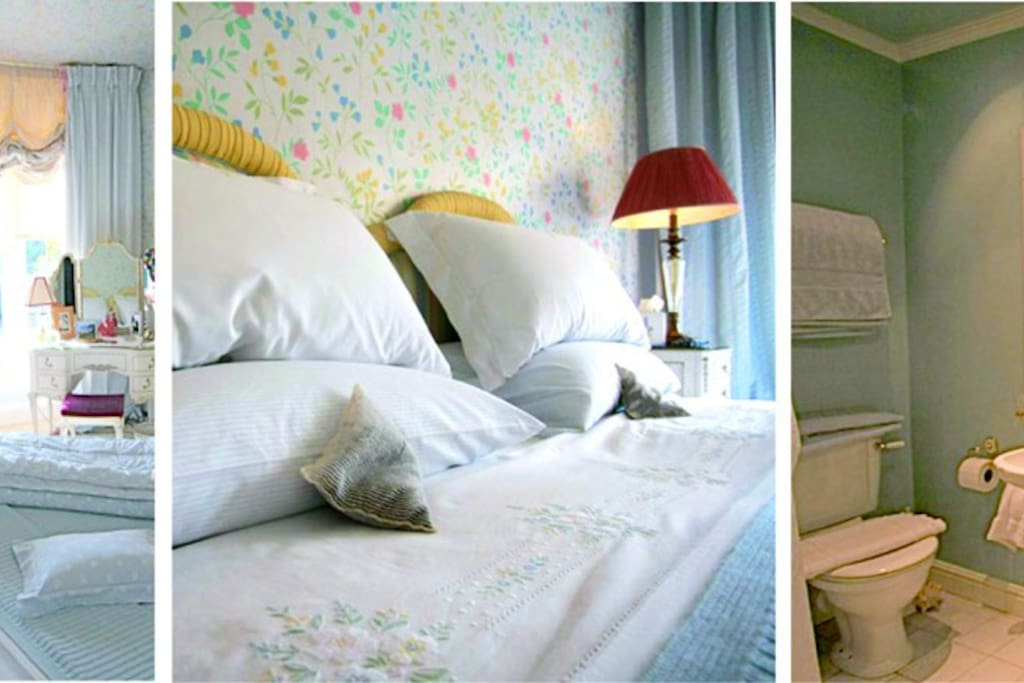 One of our many lovely bedrooms