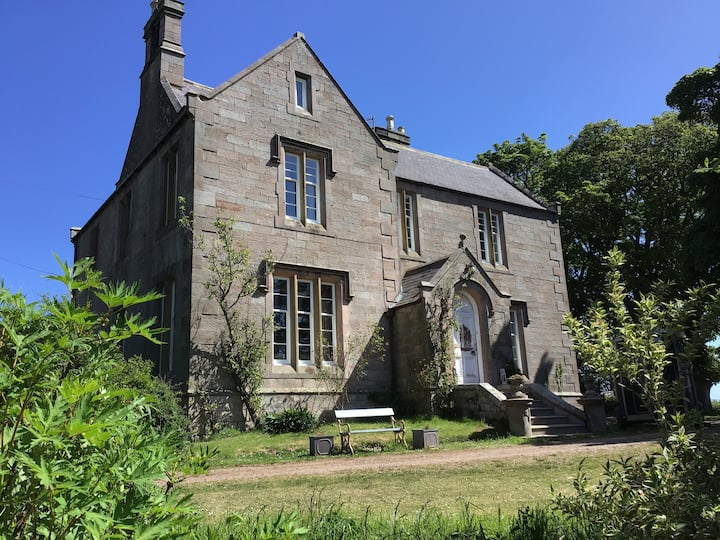 Elegant Victorian house Coldingham