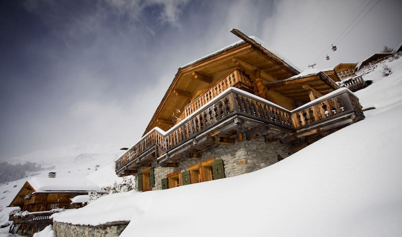 Le Chineur, Twin Bedroom  - Verbier - House