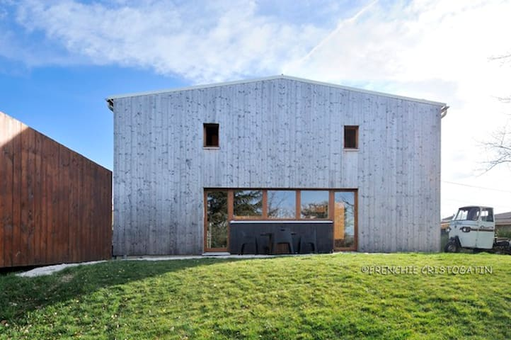 Grande Chambre lumineuse avec sde/wc privatifs - Brindas - Casa