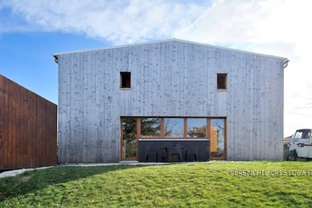 Grande Chambre lumineuse avec sde/wc privatifs - Brindas