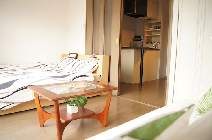 #2 Within 15 mins from Kyoto St. Apt+WIFI+2BIKE - Kyotoshi - Appartement