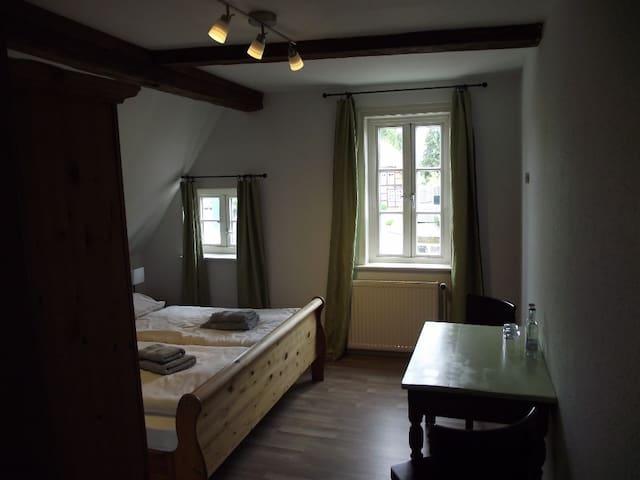 hübsche  Zimmer mit D/WC - Amelinghausen - Bed & Breakfast