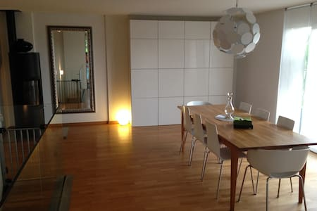 Up to 10 pers. - Appartment/garden - Préverenges - Lägenhet