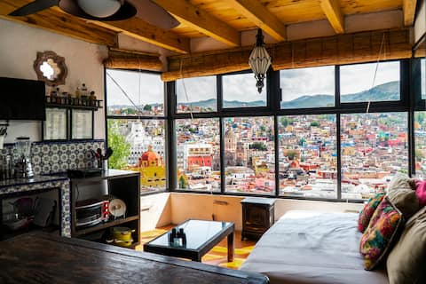 Mirador Studio in Centro w/ Best Views.