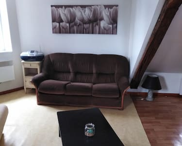 Studio tout confort en centre ville de DUN /AURON