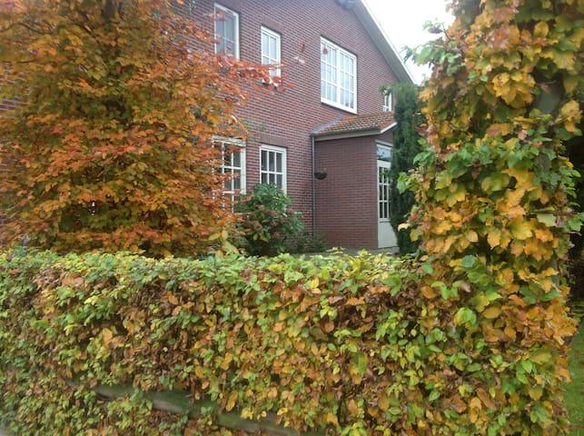 Gezellig appartement met mooie tuin