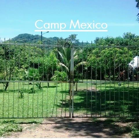 Campground in Mexico - Lo De Marcos